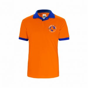 Camisa Polo Professor Laranja Semente do Saber